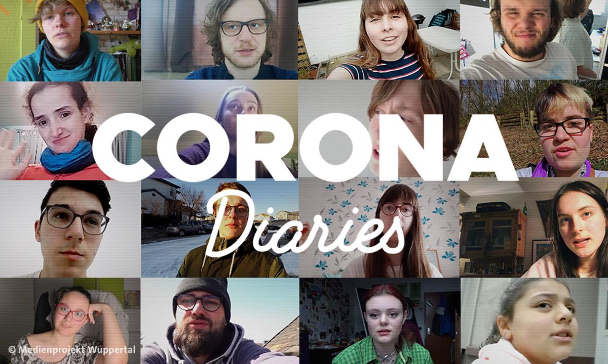 Mitwirkende bei Corona Diaries (Foto: Medienprojekt Wuppertal)