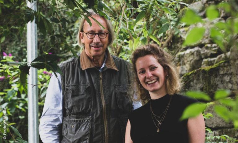 """Outdoor-Bild von Carl A. Fechner und Johanna Jaurich, den Machern von """"Fridays – The Story Of A New World"""" (Foto: Ferchner Media)"""
