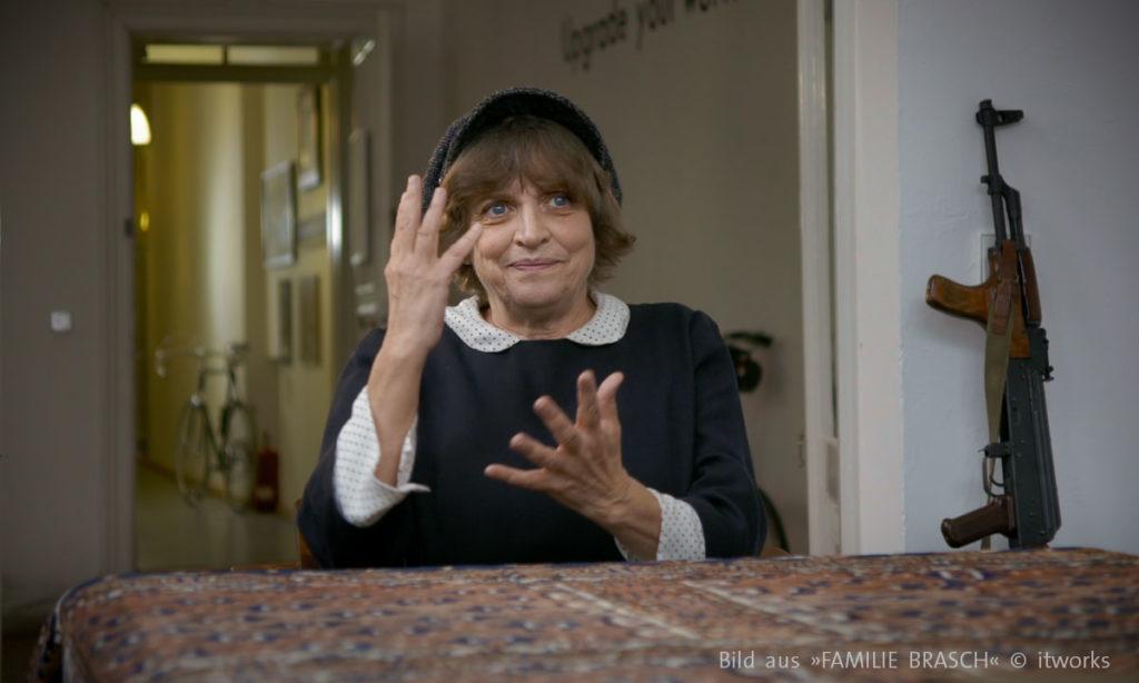 """Annekatrin Hendel bei Dokville 2019 im Gespräch zu Dokumentarfilm """"Familie Brasch"""""""