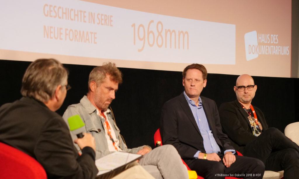 """Bild vom DOKVILLE Panel zu """"1968mm"""" (© Sabine Hackenberg/HDF)"""