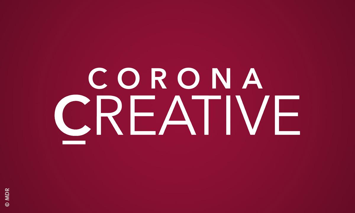 "Logo der MDR-Aktion ""Corona Creative"" (© MDR)"