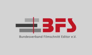 Logo Bundesverband Filmschnitt Filmeditor e.V. (BFS) © BFS
