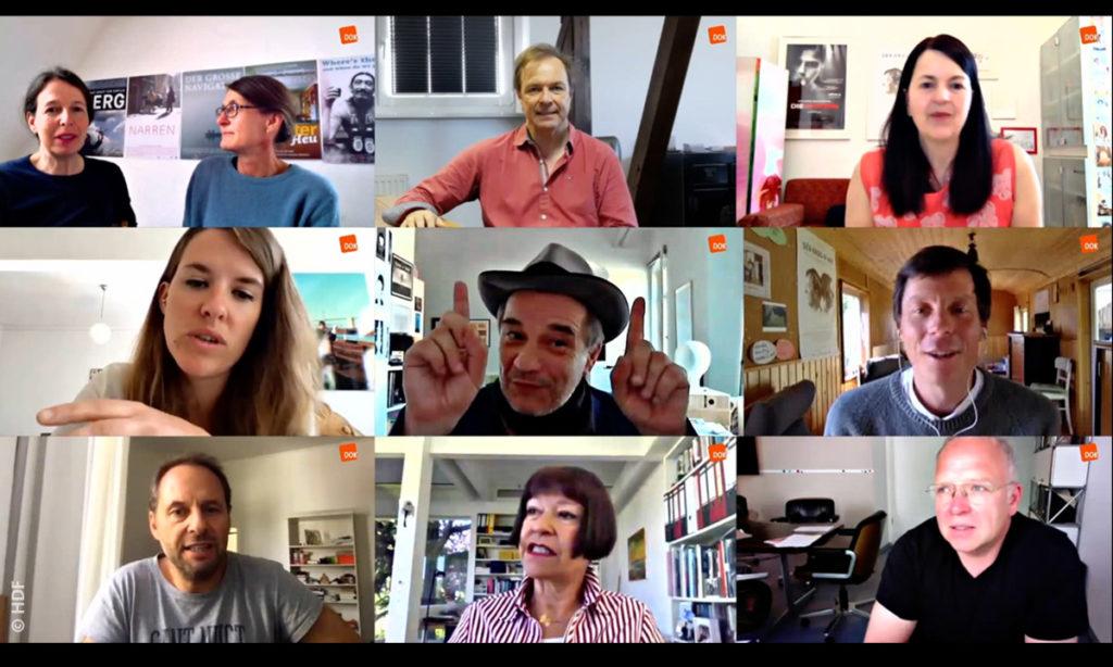 """Zoom-Interviews der Interviewpartner von """"Stimmen aus der Branche"""" © HDF"""