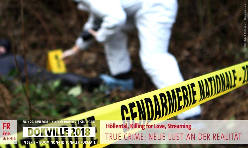 "DOKVILLE 2018: True Crime – Filmstill aus ""Höllental"" – Absperrband (© Kundschafter Filmproduktion)"