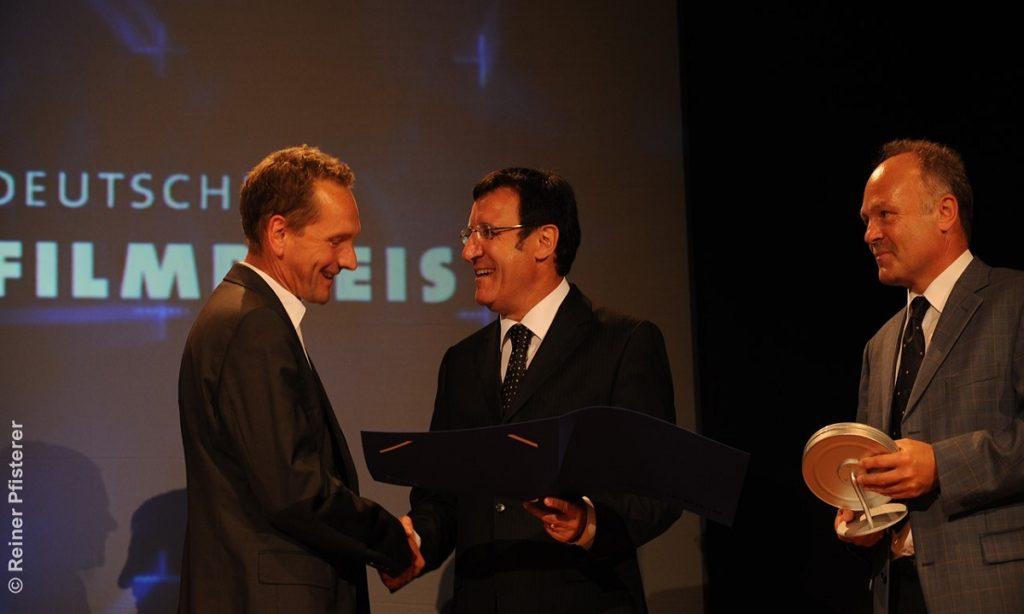 Erwin Wagenhofer erhält den ersten Deutschen Dokumentarfilmpreis 2009.
