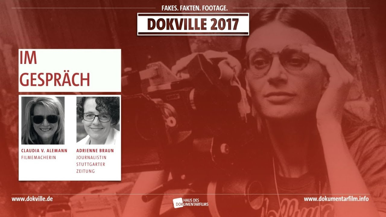 DOKVILLE 2017: Claudia von Alemann im Gespräch (HDF)