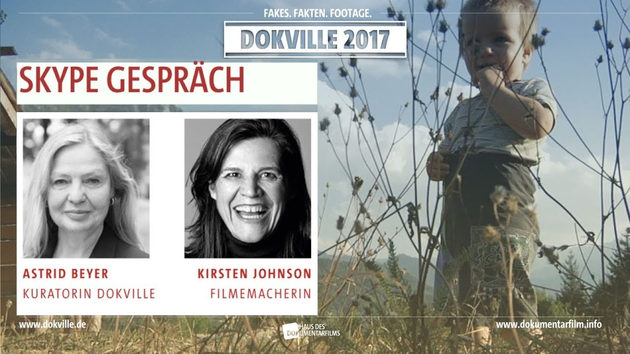 """Kirsten Johnson (""""Cameraperson"""") im Gespräch mit DOKVILLE Kuratorin Astrid Beyer (HDF)"""