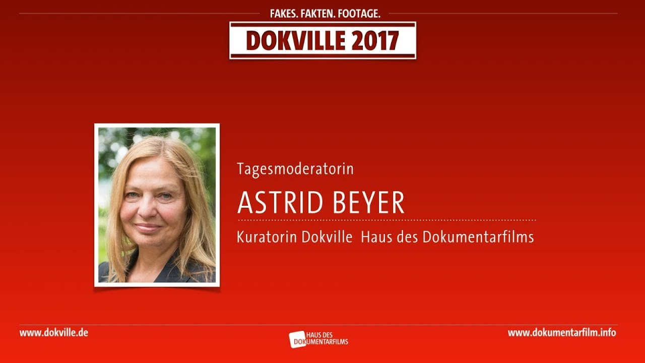 DOKVILLE Kuratorin Astrid Beyer zum Programm (HDF)