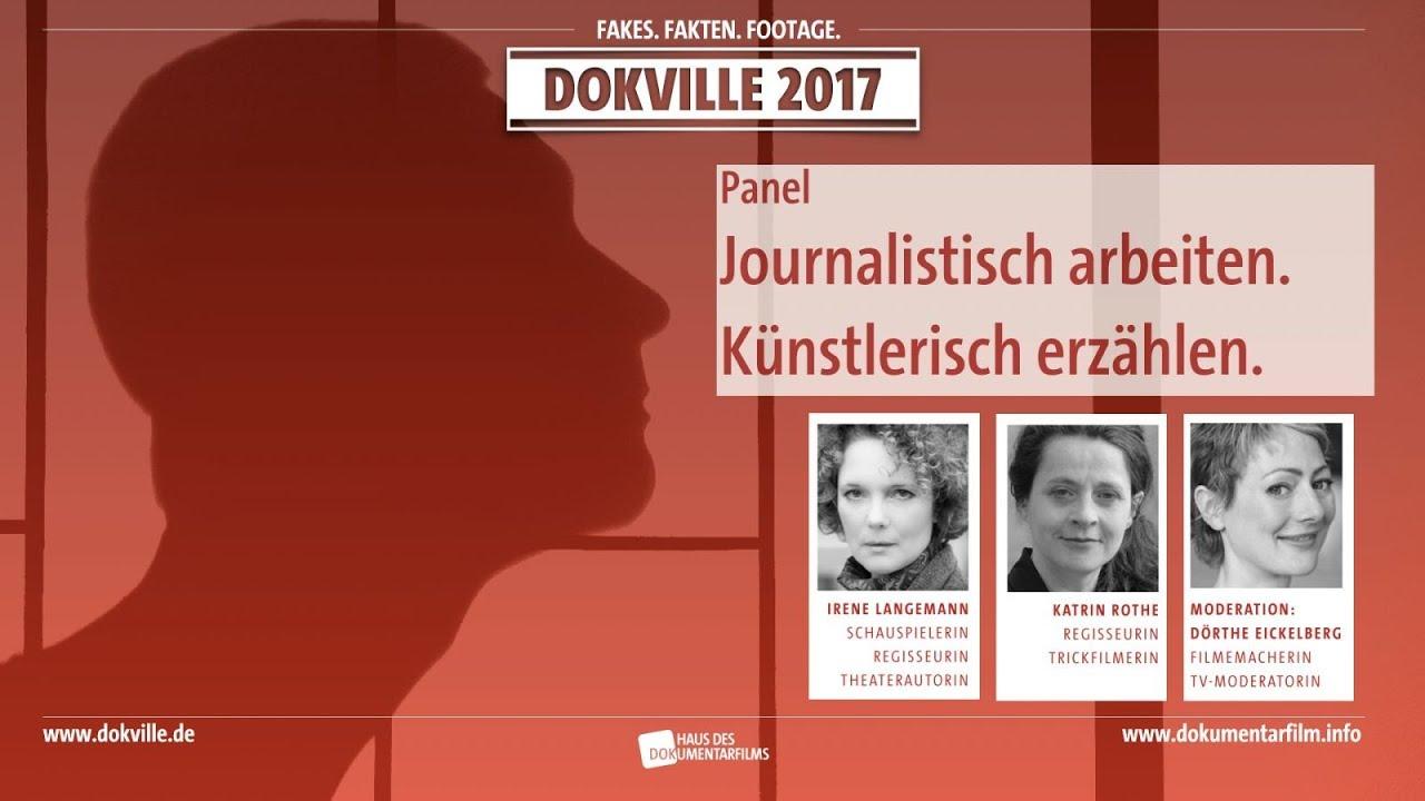 Panel: Journalistisch arbeiten, künstlerisch erzählen bei DOKVILLE 2017 (Foto: HDF)