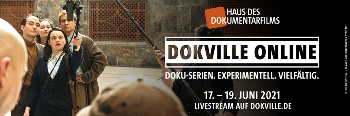DOKVILLE_2021 online Key Visual (Foto: Rebecca Rütten, Sommerhaus Filmproduktion/SWR)