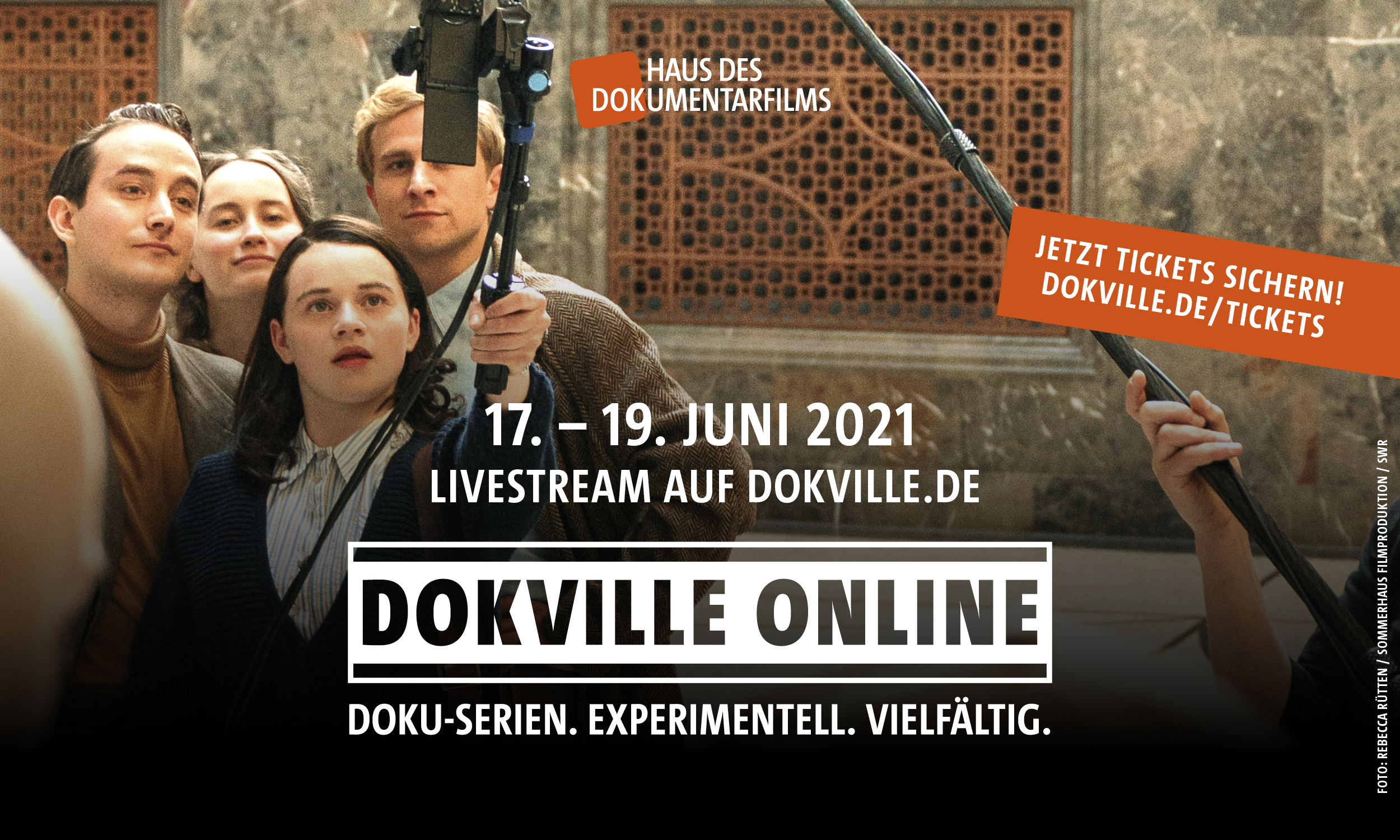 """DOKVILLE 2021, u. a. zur Instagram-Serie """"Ich bin Sophie Scholl"""" (Rebecca Rütten/Sommerhaus Filmproduktion, SWR)"""