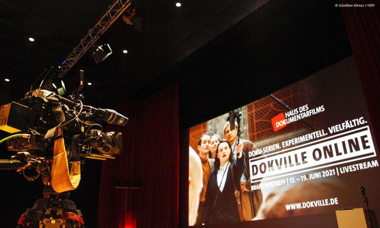 Unser Kamerateam vom SWR filmt live aus dem Stuttgarter Kino Gloria © Günther Ahner/HDF