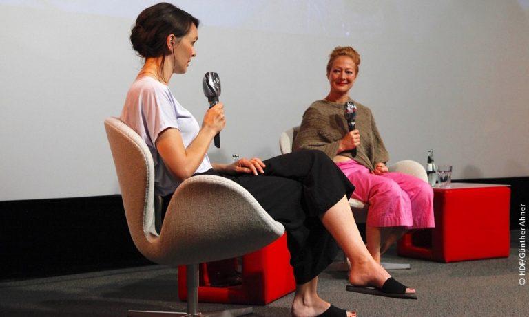 Antje Behr im Gespräch mit Dörthe Eickelberg DOKVILLE 2021