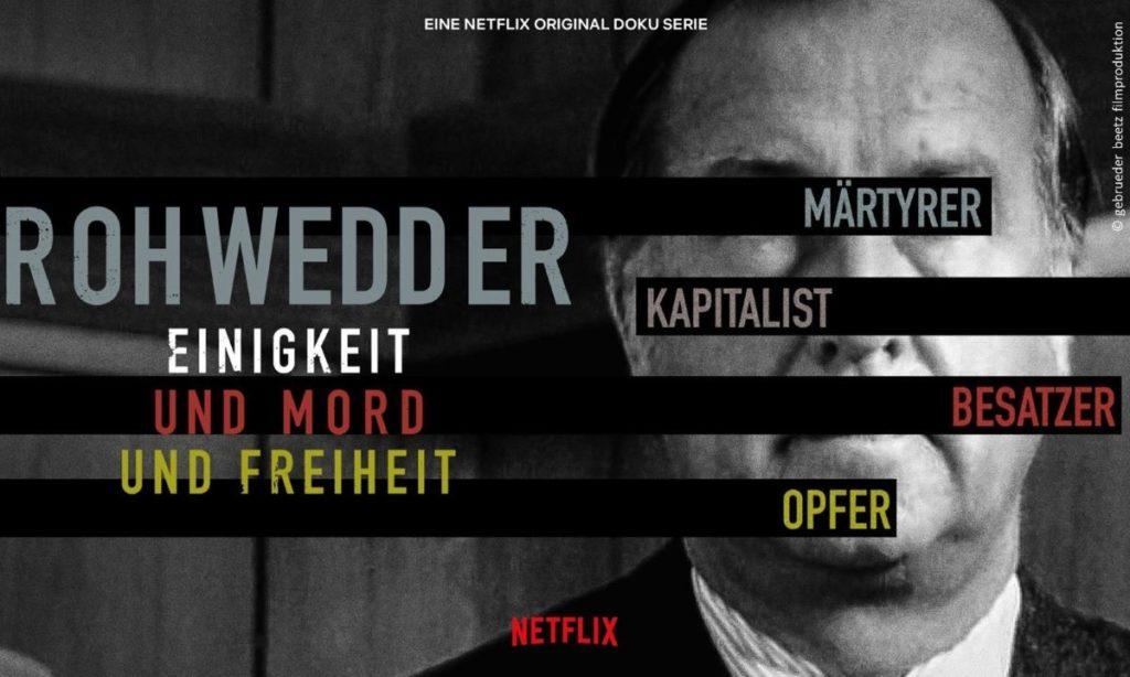 """""""Rohwedder. Einigkeit und Mord und Freiheit"""" von Gebrueder beetz filmproduktion"""