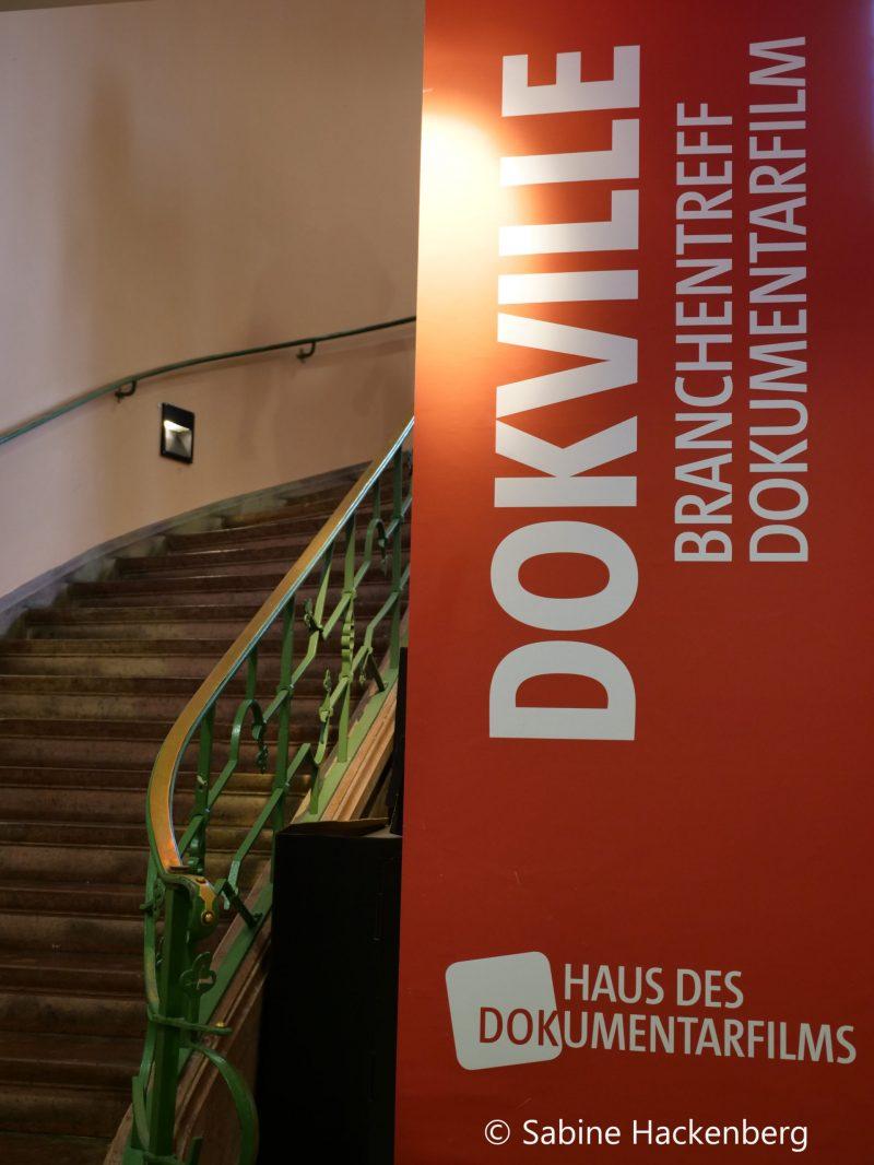 Dokville Banner im Kino Metropol Stuttgart
